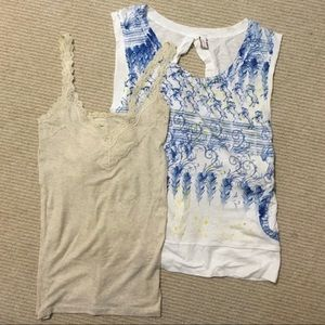 Free People + Abercrombie & Fitch tanks